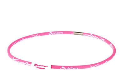 PHITEN NECKLACE ~ Pink Titanium Energy X30 Tribal Youth 18