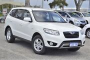 2011 Hyundai Santa Fe CM MY12 SLX White 6 Speed Sports Automatic Wagon Wangara Wanneroo Area Preview