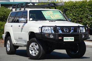 2014 Nissan Patrol Y61 GU 9 ST White 4 Speed Automatic Wagon Acacia Ridge Brisbane South West Preview