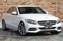 2015 Mercedes-Benz C250 W205 7G-Tronic + White 7 Speed Sports Automatic Sedan North Melbourne Melbourne City Preview