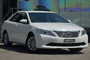 2012 Toyota Aurion GSV50R AT-X White 6 Speed Automatic Sedan Old Guildford Fairfield Area Preview