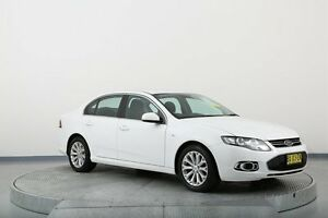 2013 Ford Falcon FG MkII G6 White 6 Speed Sports Automatic Sedan Old Guildford Fairfield Area Preview
