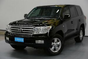2011 Toyota Landcruiser VDJ200R MY10 Sahara Black 6 Speed Sports Automatic Wagon
