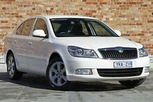 2009 Skoda Octavia 1Z MY09 DSG White 7 Speed Sports Automatic Dual Clutch Liftback North Melbourne Melbourne City Preview