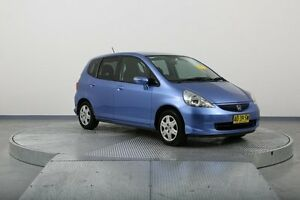 2007 Honda Jazz GD VTi Blue 7 Speed Constant Variable Hatchback Old Guildford Fairfield Area Preview