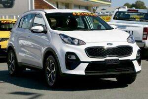 2018 Kia Sportage QL MY19 Si 2WD Clear White 6 Speed Sports Automatic Wagon Cleveland Redland Area Preview