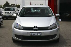 2009 Volkswagen Golf VI MY10 90TSI DSG Trendline Silver 7 Speed Sports Automatic Dual Clutch