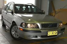 2003 Volvo V40 Phase 2 MY03 Silver 5 Speed Automatic Wagon Pearce Woden Valley Preview