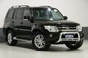 2013 Mitsubishi Pajero NW MY14 VR-X LWB (4x4) Black 5 Speed Auto Sports Mode Wagon Bentley Canning Area Preview