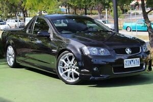 2012 Holden Ute VE II MY12.5 SV6 Z Series Black 6 Speed Manual Utility Berwick Casey Area Preview