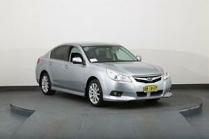 2012 Subaru Liberty MY12 2.5I Silver Continuous Variable Sedan Smithfield Parramatta Area Preview