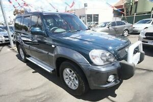 2004 Hyundai Terracan HP MY04 Blue 4 Speed Automatic Wagon Kingsville Maribyrnong Area Preview