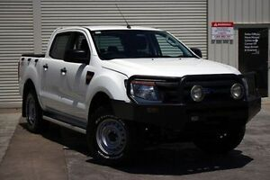 2012 Ford Ranger PX XL Double Cab White 6 Speed Manual Utility Seaford Frankston Area Preview