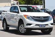 2014 Mazda BT-50 UP0YF1 XTR Cool White 6 Speed Manual Utility Maylands Bayswater Area Preview