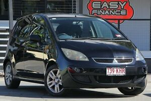 2006 Mitsubishi Colt RG MY06.5 VR-X Black 5 Speed Manual Hatchback Bray Park Pine Rivers Area Preview