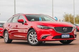 2015 Mazda 6 GJ1032 Touring SKYACTIV-Drive Red 6 Speed Sports Automatic Wagon East Rockingham Rockingham Area Preview