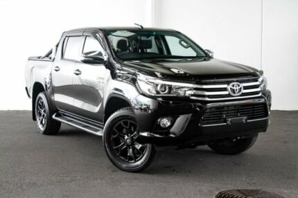 2017 Toyota Hilux GUN126R SR5 Double Cab Eclipse Black 6 Speed Sports Automatic Utility Myaree Melville Area Preview