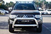 2014 Mitsubishi Triton MN MY15 GLX-R Double Cab Black 5 Speed Sports Automatic Utility Port Adelaide Port Adelaide Area Preview