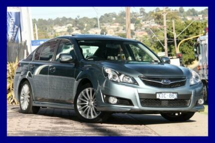 2009 Subaru Liberty B5 MY10 2.5i Sports Lineartronic AWD Premium Sage Green 6 Speed Lilydale Yarra Ranges Preview