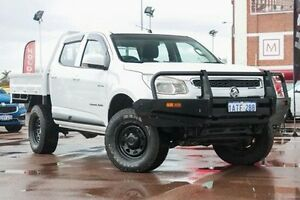2012 Holden Colorado RG MY13 LX Crew Cab White 5 Speed Manual Utility Fremantle Fremantle Area Preview