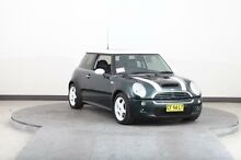 2003 Mini Cooper R53 S Green 6 Speed Manual Hatchback Smithfield Parramatta Area Preview
