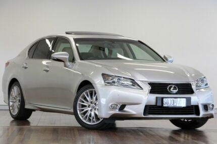 2012 Lexus GS350 GRL10R Sports Luxury Sonic Silver 6 Speed Sports Automatic Sedan