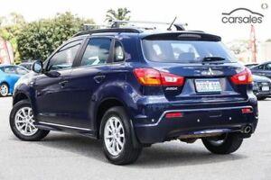 2010 Mitsubishi ASX XA MY11 Blue 6 Speed Constant Variable Wagon