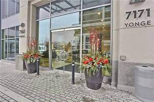 """2Bdrm """"World On Yonge"""" Condo In The Heart Of Thornhill!"""