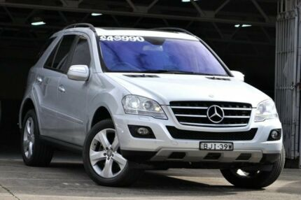 2009 Mercedes-Benz ML W164 08 Upgrade 350 (4x4) Silver 7 Speed Automatic G-Tronic Wagon Mosman Mosman Area Preview