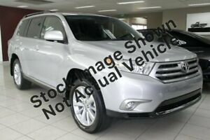 2012 Toyota Kluger GSU45R MY12 Altitude AWD Silver 5 Speed Sports Automatic Wagon Port Macquarie Port Macquarie City Preview