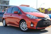 2016 Toyota Yaris NCP131R ZR Inferno 4 Speed Automatic Hatchback Northbridge Perth City Area Preview