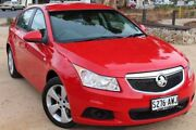 2013 Holden Cruze JH Series II MY13 Equipe Red 6 Speed Sports Automatic Hatchback Thebarton West Torrens Area Preview