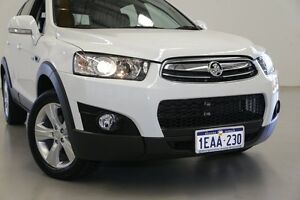 2012 Holden Captiva CG MY12 7 CX (4x4) White 6 Speed Automatic Wagon Hillman Rockingham Area Preview