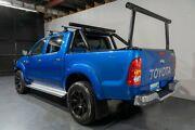 2010 Toyota Hilux KUN26R 09 Upgrade SR5 (4x4) Blue 4 Speed Automatic Dual Cab Pick-up Woodridge Logan Area Preview