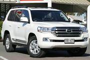 2017 Toyota Landcruiser VDJ200R Sahara Crystal Pearl 6 Speed Sports Automatic Wagon Christies Beach Morphett Vale Area Preview
