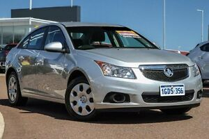 2012 Holden Cruze JH Series II MY12 CD Silver 6 Speed Sports Automatic Sedan East Rockingham Rockingham Area Preview
