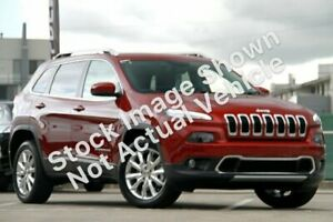 2015 Jeep Cherokee KL MY15 Limited Red 9 Speed Sports Automatic Wagon Hoppers Crossing Wyndham Area Preview