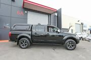 2007 Nissan Navara D40 ST-X Black 6 Speed Manual Utility Lonsdale Morphett Vale Area Preview