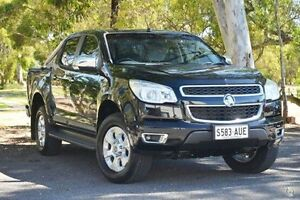 2012 Holden Colorado RG MY13 LTZ Crew Cab Black 5 Speed Manual Utility Valley View Salisbury Area Preview