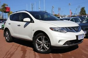 2014 Nissan Murano Z51 Series 4 MY14 TI White 6 Speed Constant Variable Wagon Willagee Melville Area Preview