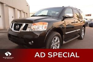 2012 Nissan Armada PLATINUM 4WD LEATHER Special - Was $38995 $28