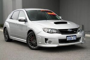 2011 Subaru Impreza G3 MY11 WRX AWD Silver 5 Speed Manual Hatchback Osborne Park Stirling Area Preview