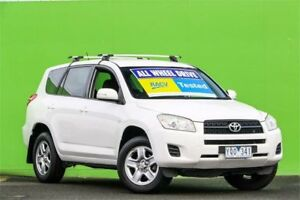 2011 Toyota RAV4 ACA33R MY12 CV White 4 Speed Automatic Wagon Ringwood East Maroondah Area Preview