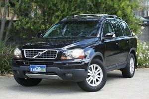 2007 Volvo XC90 P28 MY07 D5 Black 6 Speed Sports Automatic Wagon Underwood Logan Area Preview