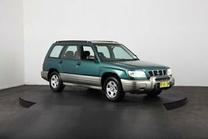 2001 Subaru Forester MY01 Limited Green 5 Speed Manual Wagon Mulgrave Hawkesbury Area Preview