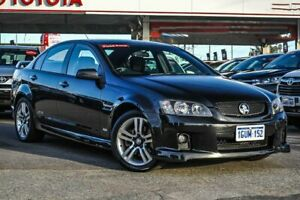 2008 Holden Commodore VE MY08 SS Black 6 Speed Automatic Sedan