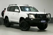 2014 Toyota Landcruiser Prado KDJ150R MY14 GXL (4x4) White 5 Speed Sequential Auto Wagon Bentley Canning Area Preview