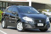2014 Suzuki S-Cross JY GL Cosmic Black 7 Speed Constant Variable Hatchback Christies Beach Morphett Vale Area Preview