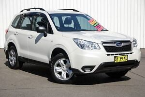 2014 Subaru Forester S4 MY14 2.5i-L Lineartronic AWD White 6 Speed Constant Variable Wagon Kings Park Blacktown Area Preview
