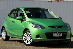 2008 Mazda 2 DE10Y1 Neo Spirited Green 5 Speed Manual Hatchback Chermside Brisbane North East Preview